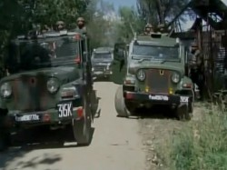 Army Search Operation In Sopore Baramula Jammu Kashmir After Inputs Of Terrorists In The Area
