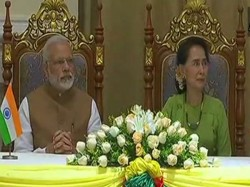 Pm Narendra Modi In Myanmar Meet Aung San Suukyi Latest Update
