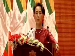 Deeply Concerned About Fleeing Of Rohingya Muslims Aung San Suu Kyi