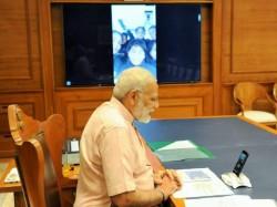 Pm Narendra Modi Wished Happy Diwali Insv Tarini Team