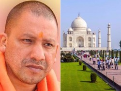 Taj Mahal Row Up Cm Yogi Adityanath To Visit Monument On Oct