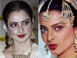 Rekha S Charisma Is Unstoppable Even At The Age