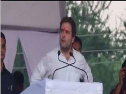 Rahul Gandhi Gujarat Visit Day 1 Santram Mandir Nadiyad Spee