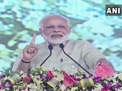 Gujarat Prime Minister Narendra Modi Arrives Chotlia
