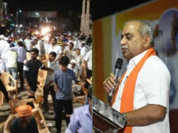 Patan Patidar Hoarded Chairs When Nitin Patel Stood Up Fo Speech