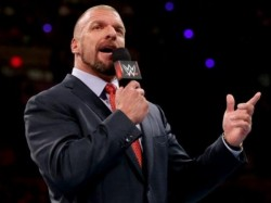 Wwe Champion Triple H Delivers Amitabh Bachchan Famous Shahenshah Dialogue