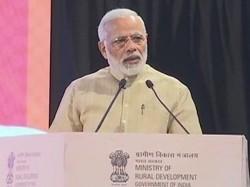 Pm Narendra Modi Speak At Birth Centenary Celebrations Nanaji Deshmukh In New Delhi