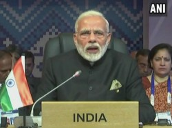 Pm Narendra Modi Addresses At 15th India Asean Summit In Philippines