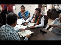 Gujarat Election Shakti Singh Gohil Filed Nomination Form
