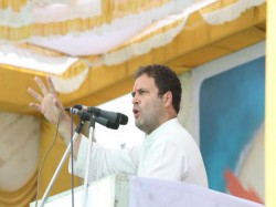 Gujarat Elections 2017 Rahul Gandhi At Addresses Public Mee