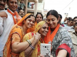 Gujarat Election 2017 Information Minister Smriti Irani Ca