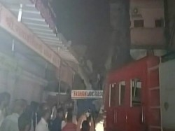 Three Store Building Collapsed Vapi Several People Feared Trapped