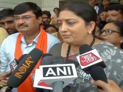 Rahul Gandhi Should Stop Dreaming About Sweeping Gujarat Poll Smriti
