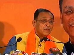 Gujarat Elections 2017 Cm Vijay Rupani Addressed Press Confe