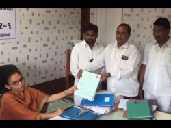 Gujarat Election 2017 Bjp Leader Registered Nomination As An