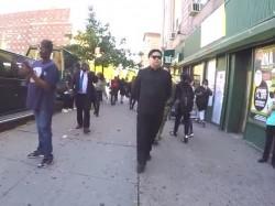 Man Dressed Like Kim Jong Un Walks On The Streets New York Left People Surprised