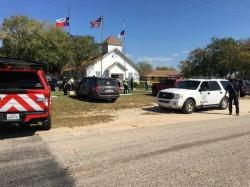 Multiple Casualties Texas Church Shooting Shooter Taken Down