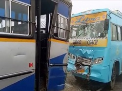 Killed Bathinda As Truck Ploughs Through Crowd At Accident Site In Smog