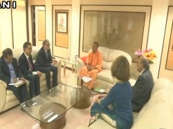Cm Yogi Adityanath Bill Gates Held Meeting Lucknow Dignitaries Also Present