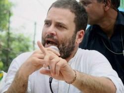 Congress Vp Rahul Gandhi Tweets On Alleged Rafale Scam