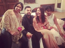 Anushka Sharma Spends Time With Husband Virat Kohli Sasural
