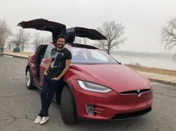 Genelia Dsouza Ritesh Deshmukh Birthday Gift Tesla Model X Suv