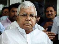 After Fodder Scam Verdict Lalu Prasad Yadav Spends Sleepless Night In Jail