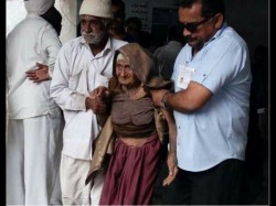 Voting Day 126 Year Old Ajiba Gave Her Vote Gujarat Assemb