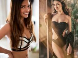 Black White Bikini Contest Riya Sen