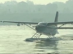 Pm Narendra Modi Will Fly Seaplane From Sabarmati Dharoi Dam