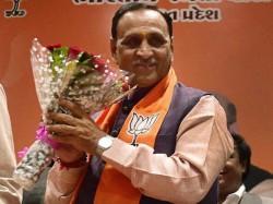 Gujarat Cm Oath Ceremony Vijay Rupani Breaks Bjp Myth Just