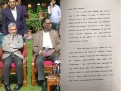 Supreme Court Crisis Justice Chelameswar Three Other Judges Penned Down This 7 Page Letter