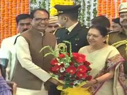 Anandiben Patel Takes Oath As The Governor Madhya Pradesh Bh