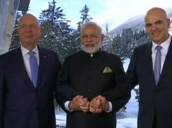 Pm Narendra Modi Addresses World Economic Forum 2018 Davos