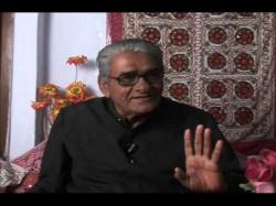 Famous Gujarati Shayar Jalan Matri Is No More