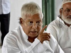 Verdict Third Fodder Scam Case Involving Lalu Yadav