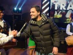 Rahul Gandhi Singing We Shall Overcome Meghalaya With Mukul Sangama