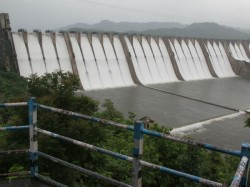 Government Release Water Narmada Canal Irrigation