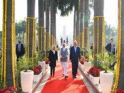 Israeli Pm Benjamin Netanyahu Arrives India Today 6 Day Visit
