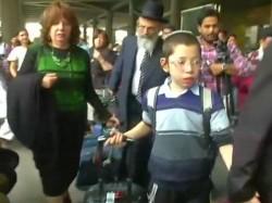 Baby Moshe Holtzberg Arrives Mumbai He Lost His Parents 26 11 Mumbai Terror Attack Nariman House