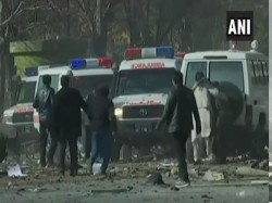 Afghanistan Massive Attack In Kabul 75 Wounded