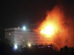 Kabul Gunmen Attack Intercontinental Hotel Several Dead Many Injured
