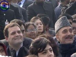 Rahul Gandhi Watched The Republic Day Parade From The Sixth Row At Delhi S Rajpath