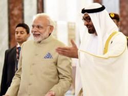 Pm Modi Uae Abu Dhabi Crown Prince Describes Pm Modi As Friend