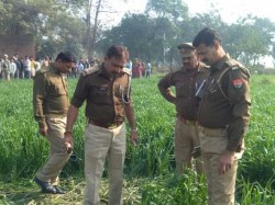 Dead Body Found Field In Bhadohi