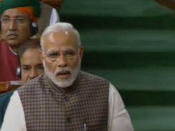 Pm Narendra Modi Speaks Lok Sabha On The Motion Thanks The President Address