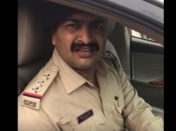 Surat Police Inspector Suspended For Driving The Car In Brts Corridor