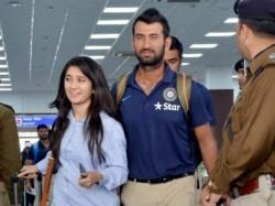 Cricketer Cheteshwar Pujara Wife Puja Pabari Blessed Baby Gi