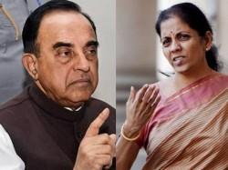 Shopian Army Firing Subramanian Swamy Attacks Defence Minister Nirmala Sitharaman Over Her Silence