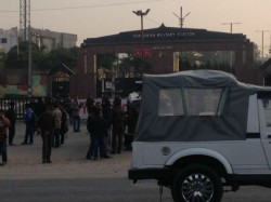 Terrorist Storm Army Camp Sunjwan Jammu Kashmir